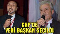 CHP Merkez İlçe'de yeni başkan Ünal Er oldu