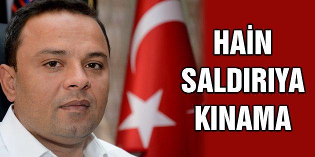 Ak Parti İl Başkanı Karatay hain saldırı kınadı