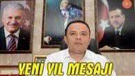 Ak Parti İl Başkanı Abdulkadir Karatay'ın yeni yıl mesajı