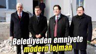 Aksaray Belediyesi'nden emniyete modern lojman