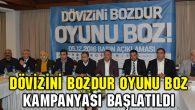 Aksaray'da Dövizini Bozdur Oyunu Boz kampanyası başlatıldı