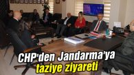 CHP'den Jandarma'ya taziye ziyareti