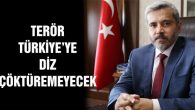 Şahin: Terör Türkiye'ye diz çöktüremeyecek