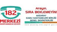 Aksaray'da 2016 yılında 283 bin 908 kişi, MHRS üzerinden randevu aldı