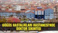 Göğüs Hastanesinde doktor sıkıntısı had safhada!