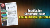 Endülüs'ten Günümüze Bakış konulu makale yarışması
