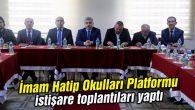 İmam Hatip Okulları Platformu istişare toplantıları yaptı