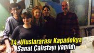 14. Uluslararası Kapadokya Sanat Çalıştayı yapıldı