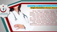 Aksaray Eğitim ve Araştırma Hastanesine Göğüs Hastalıkları Uzmanı atandı