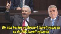 Bir gün herkes ya Bozkurt işareti yapacak ya da PKK işareti yapacak
