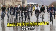 Akıllı Bisiklet İstasyonları devrede