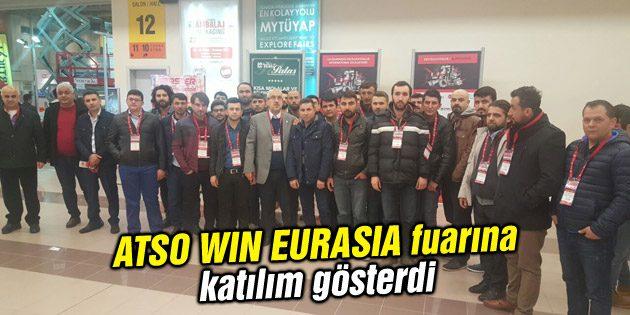 ATSO WIN EURASIA fuarına katılım gösterdi