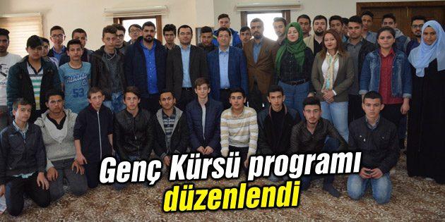 Genç Kürsü programı düzenlendi