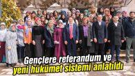 Gençlere referandum ve yeni hükümet sistemi anlatıldı