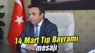 Genel Sekreter Op.Dr.Himmet Durgut'tan kutlama mesajı