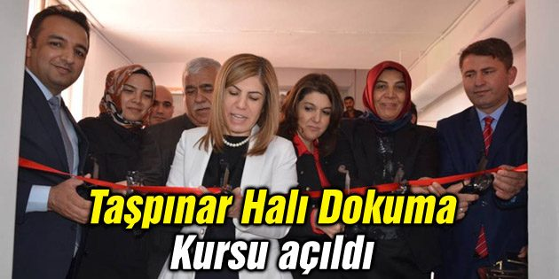 Aksaray'da Taşpınar Halı Dokuma Kursu açıldı