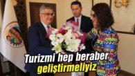 Vali Aykut Pekmez: Turizmi hep beraber geliştirmeliyiz