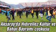 Aksaray'da Hıdırellez Kültür ve Bahar Bayramı coşkusu