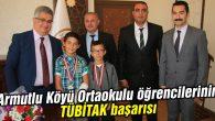Armutlu Köyü Ortaokulu öğrencilerinin TÜBİTAK başarısı