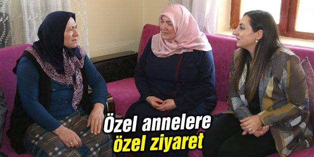 Özel annelere özel ziyaret