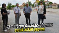 Camiliören-Gülağaç-Gülpınar sıcak asfalt yapımı