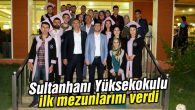 Sultanhanı Yüksekokulu ilk mezunlarını verdi
