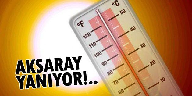 Meteoroloji'den Aksaray için hava durumu uyarısı!