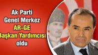 Cengiz Aydoğdu AR-GE Başkan Yardımcısı oldu