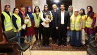 Türkiye'de ilke imza atan kadınlar Başkan Yazgı'ya teşekkür etti