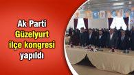 Ak Parti Güzelyurt ilçe kongresi yapıldı