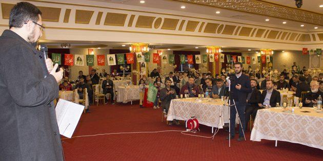 AKSA-DER tarafından Mevlid-i Nebi etkinliği düzenlendi
