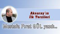 Aksaray'ın İlk Terzileri