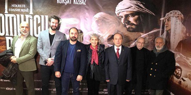 Arnavutluk'ta Somuncu Baba Aşkın Sırrı filminin galası yapıldı