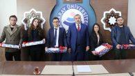 ASÜ'ye birincilikle yerleşen öğrenciler ödüllendirildi