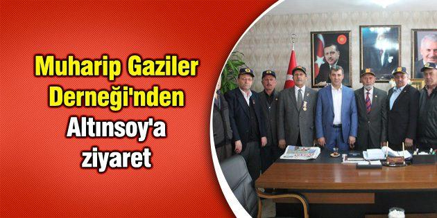 Muharip Gaziler Derneği'nden Altınsoy'a ziyaret