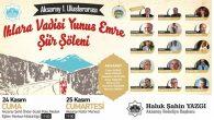 I. Uluslararası Ihlara Vadisi Yunus Emre Şiir Şöleni düzenleniyor