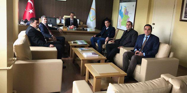 AK Parti'den Tarım İl Müdürlüğüne ziyaret