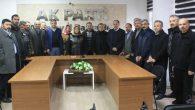 AK Parti Kadın Kolları Başkanına hayırlı olsun ziyareti