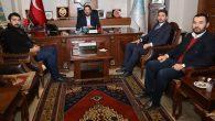 Ak Parti Gençlik Kolları MKYK üyeleri Yazgı'yı ziyaret etti