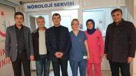 Başkan Altınsoy, hasta ve hasta yakınlarını ziyaret ediyor