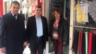 Altınsoy ve Aktürk Şemsiyeli Sokak esnafıyla bir araya geldi