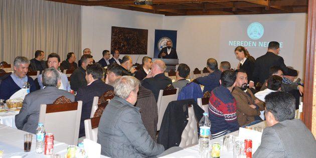 ATSO Meclisi yılın son toplantısında buluştu