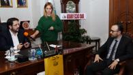 Yeni Eczacılar Odası Başkanı Özçifçi'den Yazgı'ya ziyaret