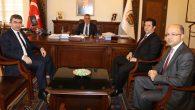 Halk Bankası'ndan Vali Aykut Pekmez'e ziyaret