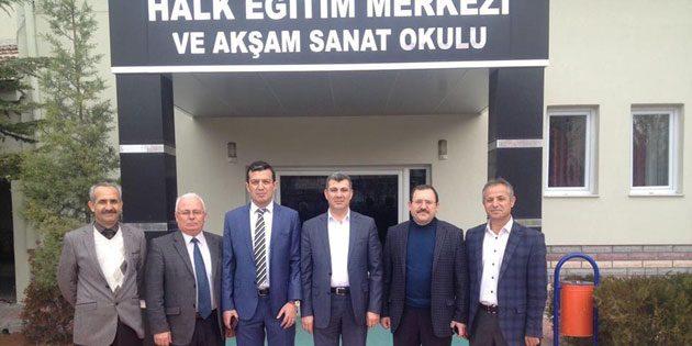 AK Parti İl Başkanı Altınsoy'dan Halk Eğitim Merkezine ziyaret