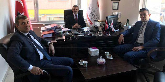 Başkan Altınsoy, Göç İdaresi İl Müdürlüğünü ziyaret etti