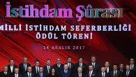 ATSO, İstihdam Ödülleri için Cumhurbaşkanlığı Külliyesi'nde