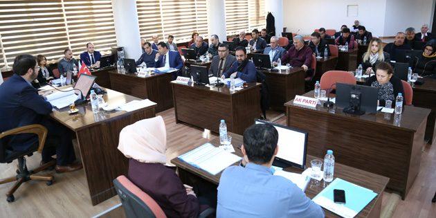 Aksaray Belediye Meclisi Kudüs'ün başkent olmasını kınadı