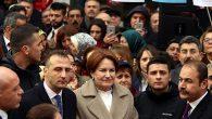 Aksaray'da Meral Akşener coşkusu