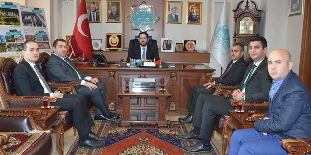 İl Sağlık Müdürü Kılıçaslan'dan Başkan Yazgı'ya ziyaret